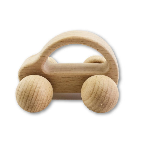 Baby wooden car toy