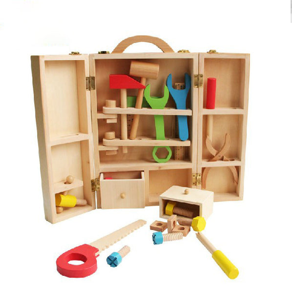 Wooden building tools  Box