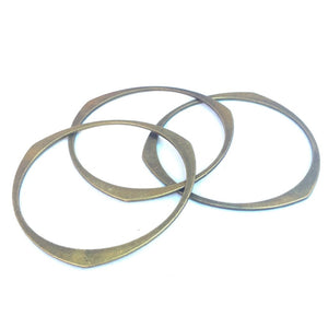 Futuristic Bangle Set