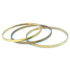 Flat Wire Stacking Bangles