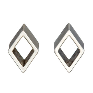 Diamond Frame Studs