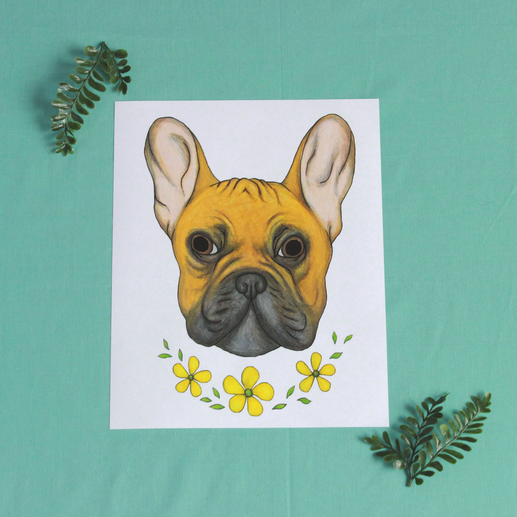 French Bulldog 8'' x 10''