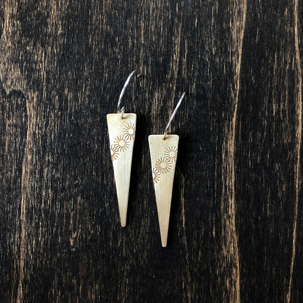 Jester Swink - Sunny Bronze Earrings