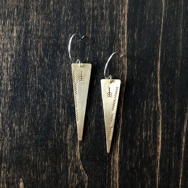 Jester Swink - Peaceful Arrow Earrings