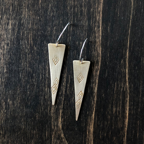 Jester Swink - Diamond Shape Earrings