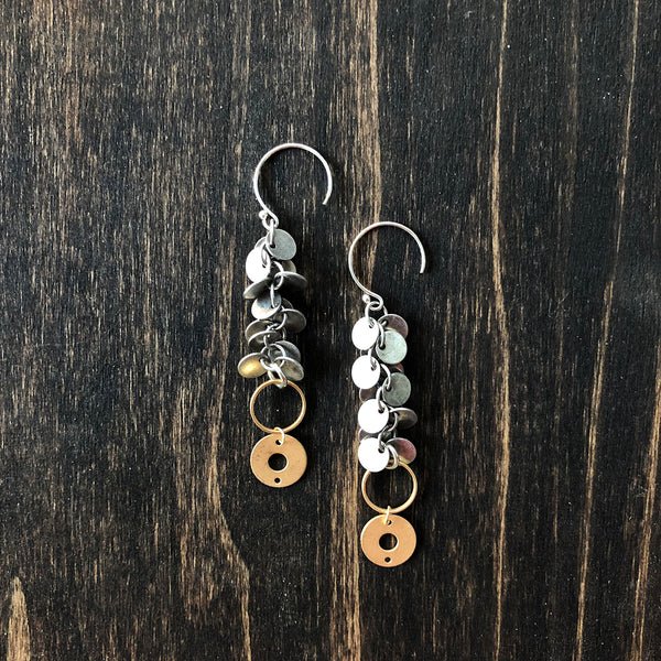 Dangly Chain Earrings - Jester Swink