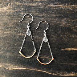 Drop Earrings with Charm - Jester Swink
