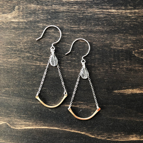 Jester Swink - Drop Earrings with Charm