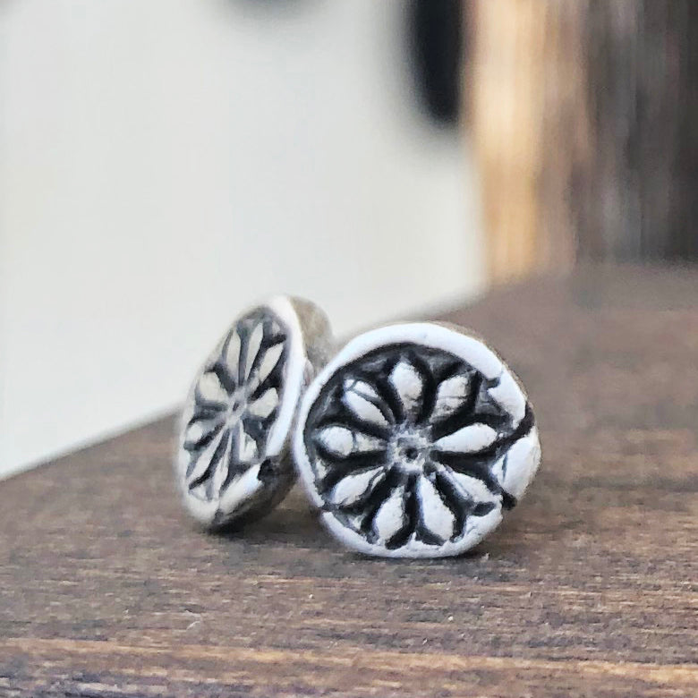 Sterling Silver Stud Earrings - Jester Swink