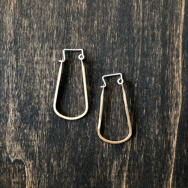 Oval Hoop Mini Earrings - Jester Swink