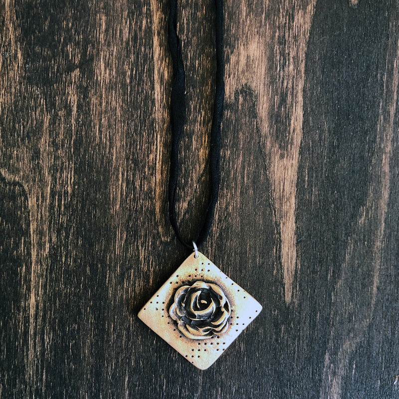Dots and Roses Necklace - Jester Swink