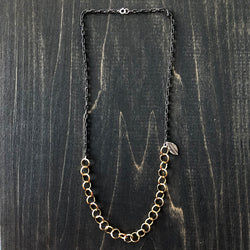 Gold-Filled and Sterling Silver Chain - Jester Swink