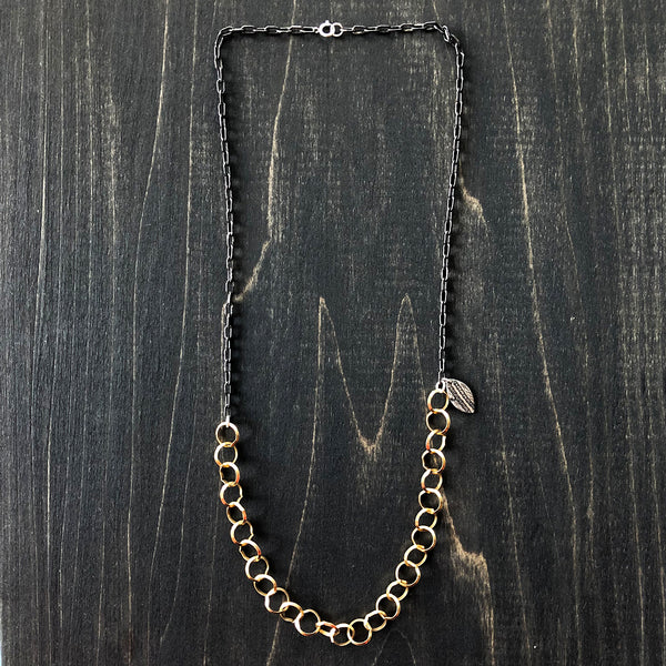 Jester Swink - Gold-Filled and Sterling Silver Chain