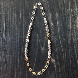Jester Swink - Asymmetry Chain on Chain with Gold and Silver