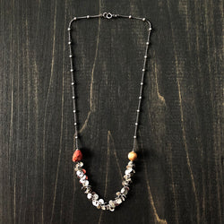 Sterling and Jasper Necklace - Jester Swink