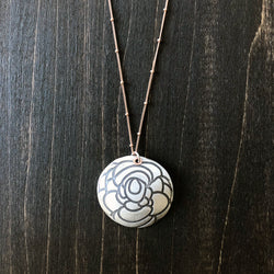 Jester Swink - Rose Pendant Necklace