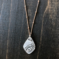 Jester Swink - A Touch of Rose - Sterling Necklace
