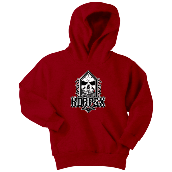 Youth Dark Mark Logo Hoodie - The KORPSxCollection
