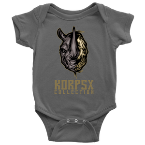 Rhino Skull Bodysuit & Toddler Shirt - The KORPSxCollection