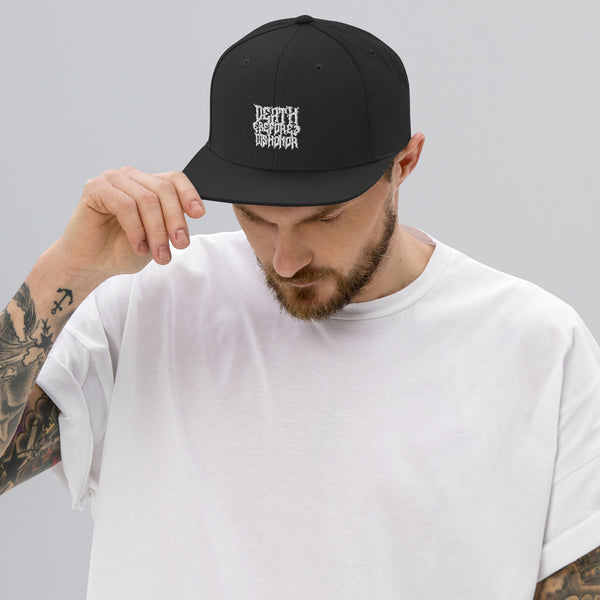 Death Before Dishonor Snapback Hat - The KORPSxCollection