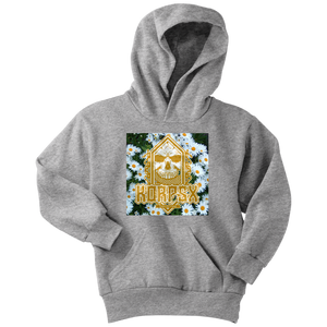 "Youth Hoodie ""Daisies"" - The KORPSxCollection"
