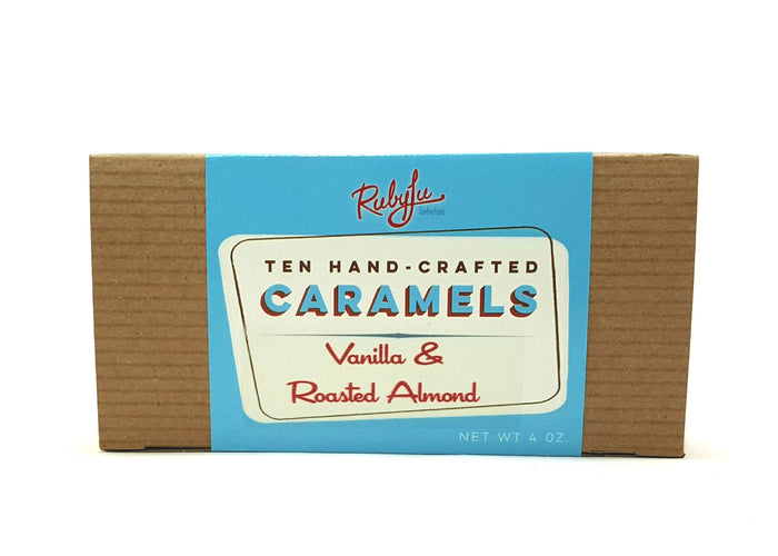 10-piece Classic Caramels - Vanilla Roasted Almond