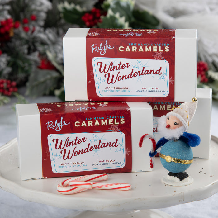 Winter Wonderland 10-piece caramel collection