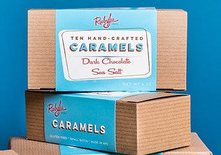 10-piece Classic Caramels - Dark Chocolate Sea Salt