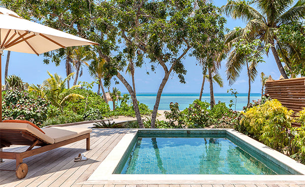 Mel Takes on Six Senses Fiji