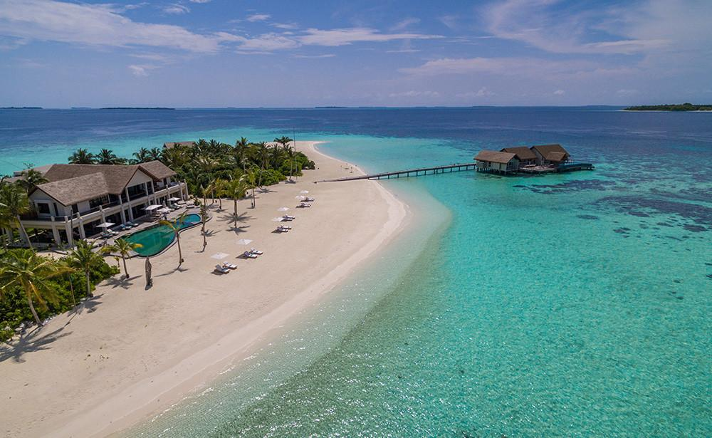 Voavah Four Seasons Private Island. Wait, a private luxury island?