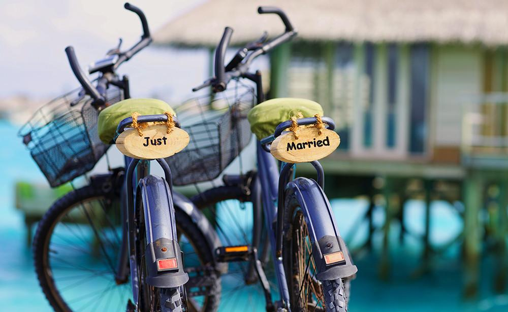 Just Married, Six Senses Laamu Maldives
