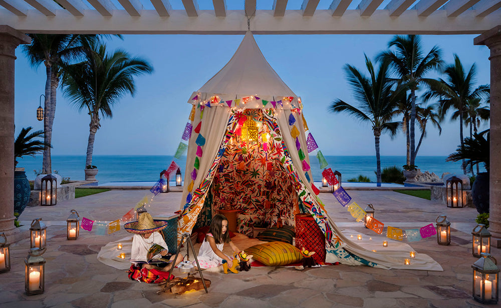 Beach Tents, One and Only Palmilla, Los Cabos, Mexico
