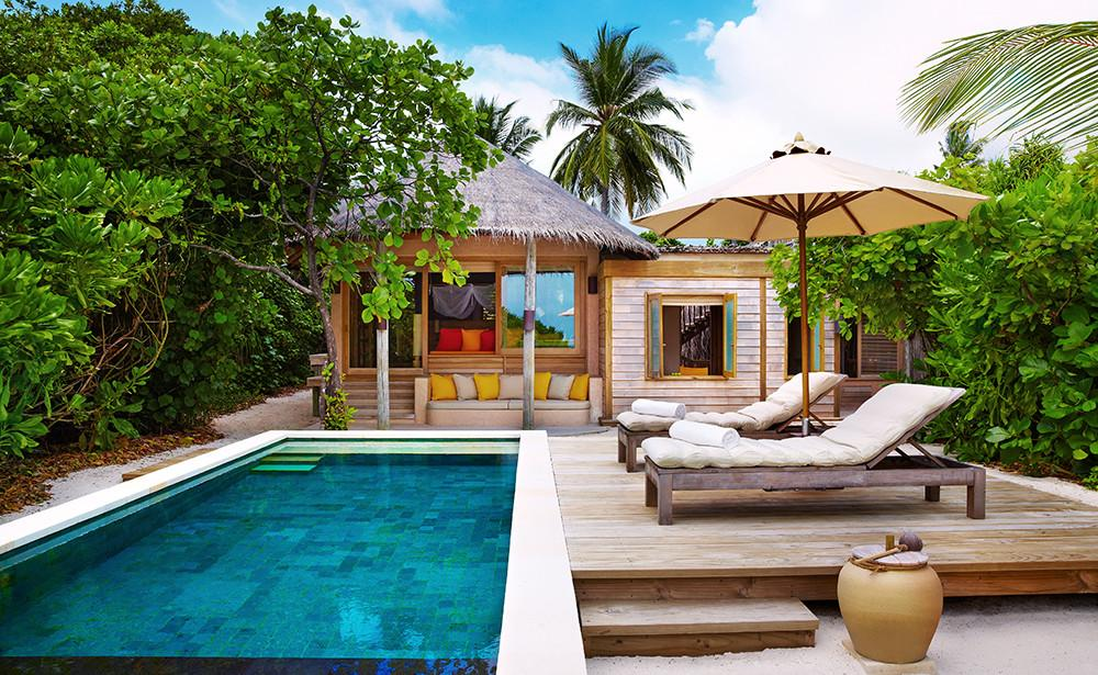 Luxury Room, Six Senses Laamu Maldives
