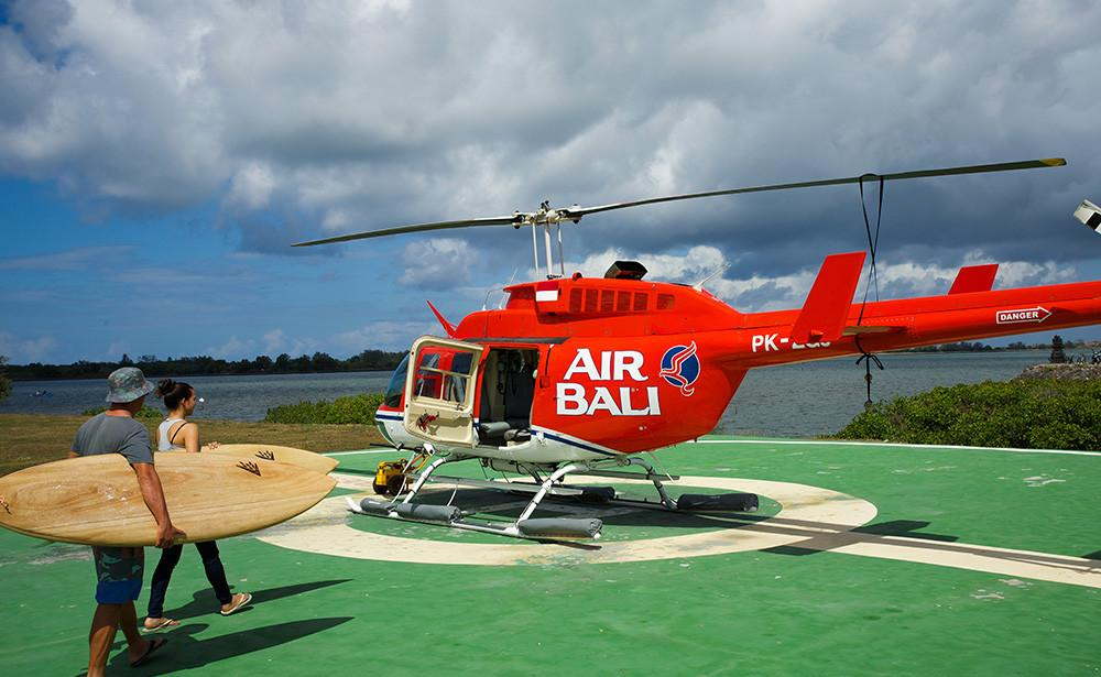 Bell 206 - G-Land Heli Indonesia