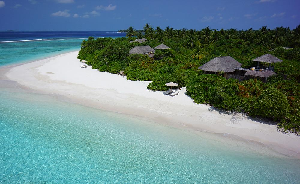 Beaches Resort, Six Senses Laamu Maldives