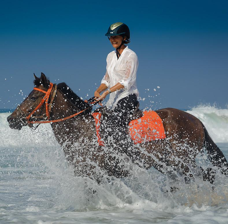 Horse Ride, Experience the best waves of your life in style
