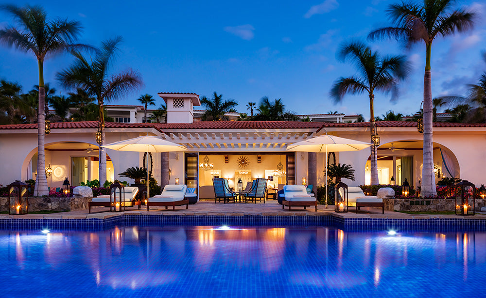 Resort and Swimming pool, One and Only Palmilla, Los Cabos, Mexico