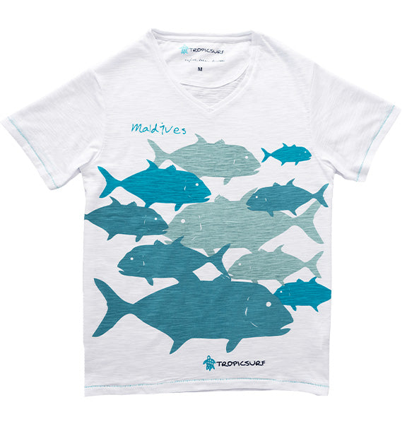 Funky Fish Maldives Tee
