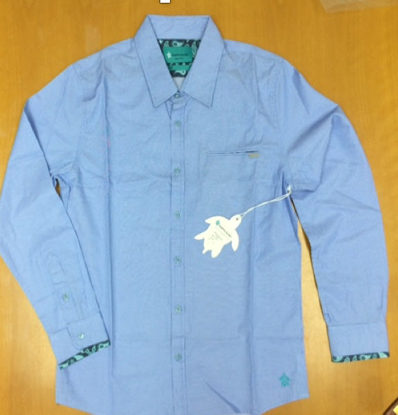 Men's Apres L/S Shirt - Blue