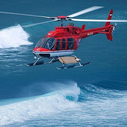 G-Land Heli, Indonesia