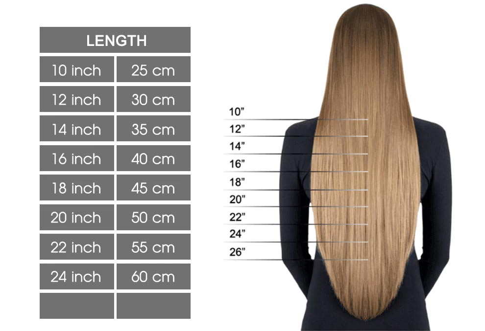 How to choose hair length of hair extensions to match your own hair length