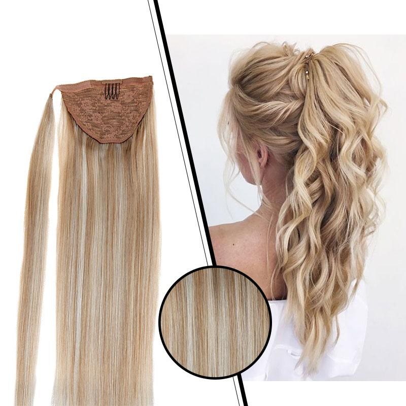 healthy human hair ponytail hair professional human hair ponytail