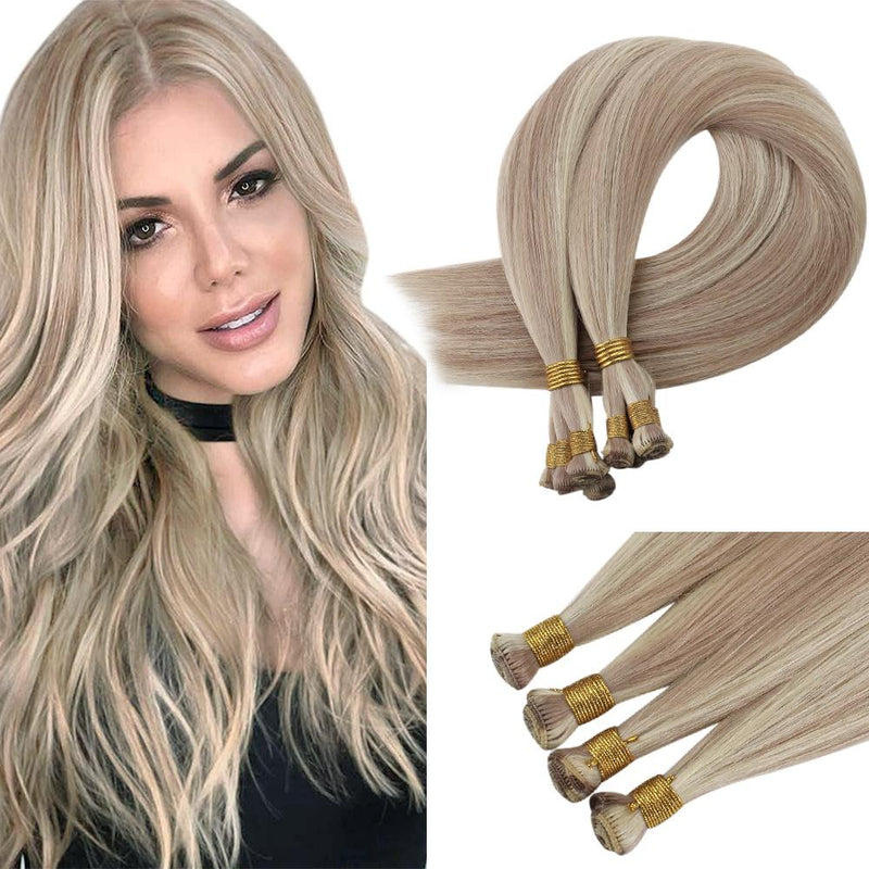 long-lasting hair skin weft hair comfortable in head hair bundles Hand tied Full Cuticle hair