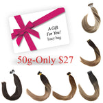 Only USA customer!! Lucky Bag Hair Extensions Six Color- 50 grams per pack, only $27 - LaaVoo