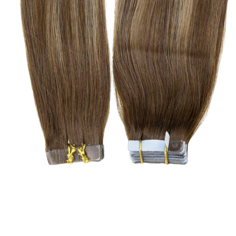 balayage ash blonde tape in hair extensions tape in huaman hair balayage straight tape in hair extensions highlight brown laavoo tape in hair extensions ash blonde tape ins hair