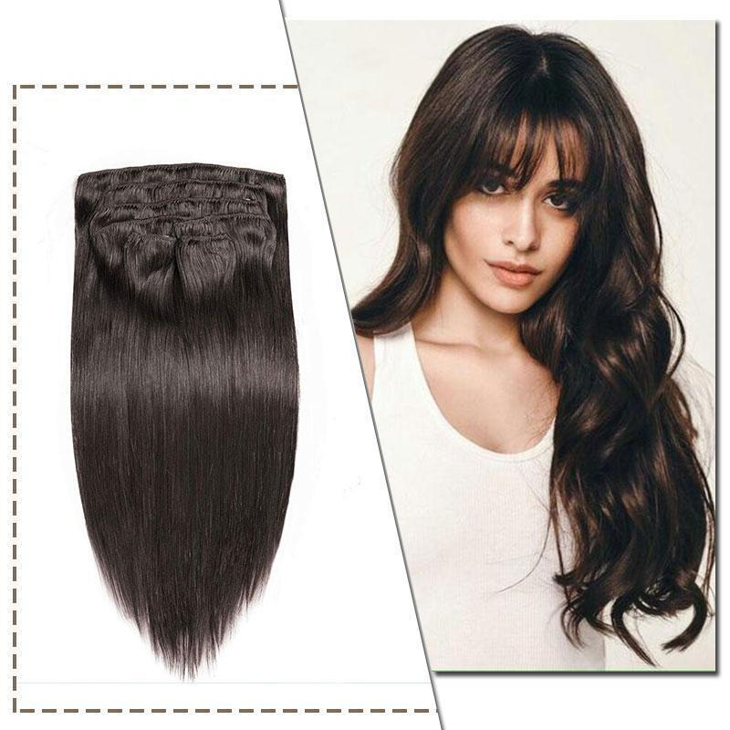 double weft human hair clip in extensions weft hair extentions straight hair extensions invisible clips hair extensions bellami hair extensions best clip in hair extensions