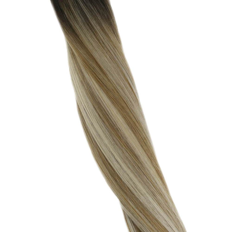 tape in human hair extensions 16 inchremy tape in human hair extensions black balayageskin weft tape in hair extensions ombreblack tape in hair extensionsombre blonde tape in human hair