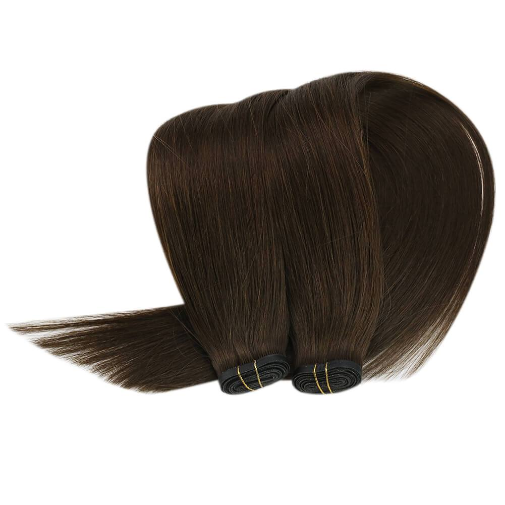 invisible hair bundles 50g per bundle 100% high quality human hair sew in weft hair extensions