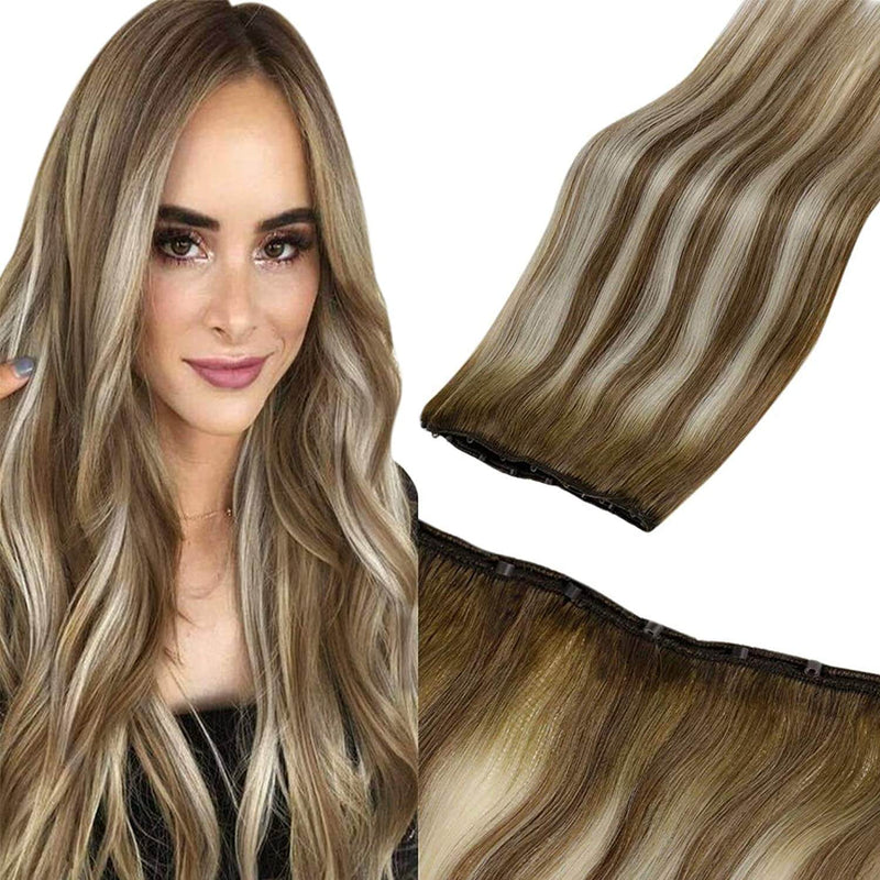 hair extensions beads weft human hair beads on hair bundles ready to apply