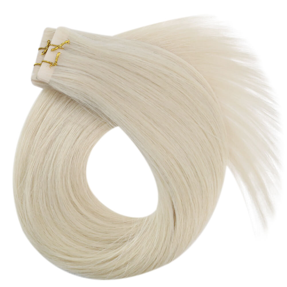 single drawn hair 100% real human hair silky smooth hair hair extensions skin weft tape in hair best tape in human hair